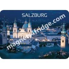 Souvenir refrigerator magnet