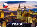 Prague Sample Fridge Magnet