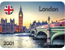 London Sample Fridge Magnet
