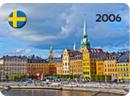 Stockholm Sample Fridge Magnet