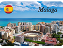 Malaga Sample Fridge Magnet