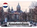 Amsterdam Sample Fridge Magnet